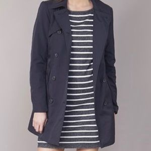 ONLY trench coat size XS dark blue NEW